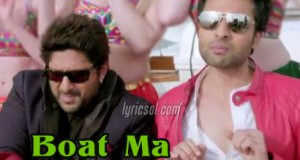 Boat Ma Kukdookoo Lyrics - Welcome To Karachi