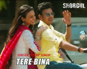 Tere Bina Lyrics – Shorgul