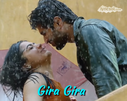 Gira Gira Tamil Lyrics from Dear Comrade